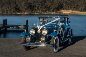 Ella: 1929 Cadillac LaSalle. Wedding car