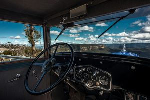 Ella: 1929 Cadillac LaSalle. Available for tours, weddings and events in the Blue Mountains Australia.